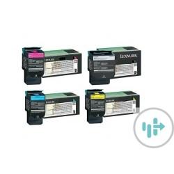 Toner Compatível para Lexmark C540/C543/C544 Yellow