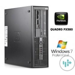WorkSation HP Z200 SFF NVIDIA FX380